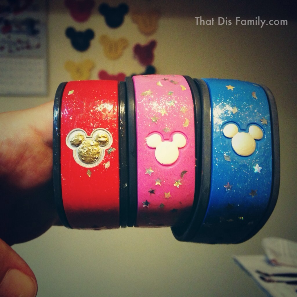 Not So Crafty Decorating Magicbands For Disney Thatdisfamily