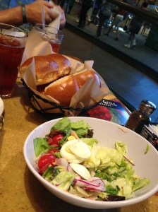 Garden Grill Epcot Salad and Bread
