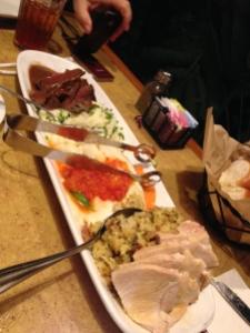 family platter at Garden Grill